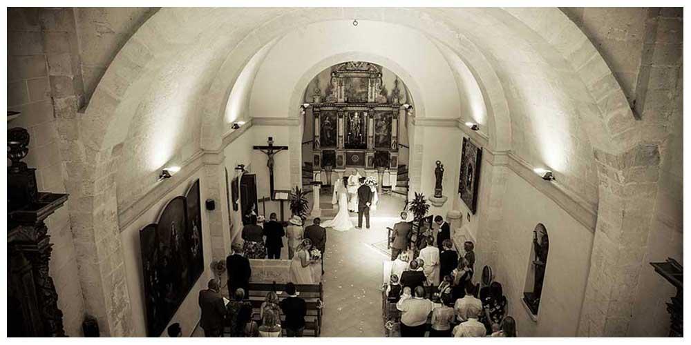 mallorca church wedding